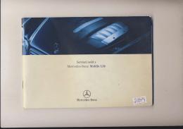 Servisní sešit s Mercedes-Benz Mobilo Life