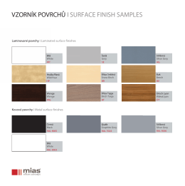 VZORNÍK POVRCHŮ I SURFACE FINISH SAMPLES