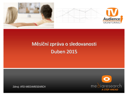 Share Zdroj: ATO - MEDIARESEARCH