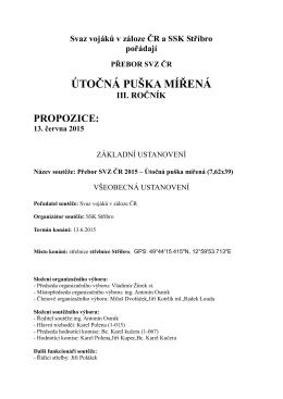 Propozice soutěže ke stažení ZDE455.71 KB