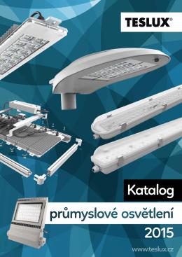 Katalog průmyslové osvětlení