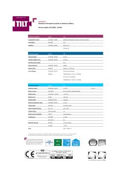 ISO 10582 - EN 649. Modulární heterogenní produkt se
