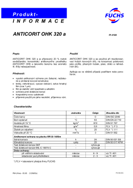 Anticorit OHK 320a