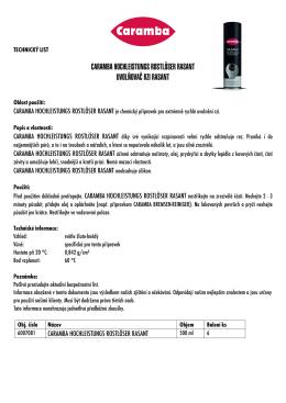 TL 6007081 HOCHLEISTUNGS ROSTLÖSER RASANT spray