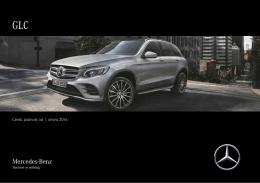Ceník, platnost od 18.června 2015 - Mercedes-Benz