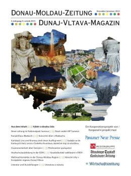 Donau-Moldau-Zeitung Dunaj-Vltava