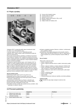 Technický list | Technická data (PDF 285 KB)