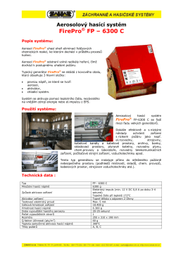 FirePro FP - 6300 C