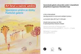 Art brut a naivní umění - galerie