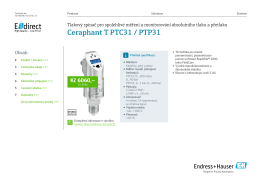 Ceraphant T PTC31 / PTP31 (PDF 2,47 MB)