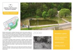 Přehled projektu revitalizace Mlýnského rybníka u Krematoria