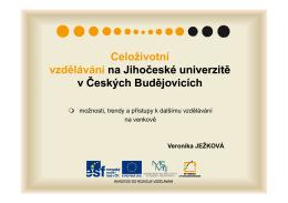 Prezentace Strunkovice_Ing. Ježková