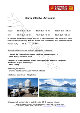 Karta Zillertal Activcard