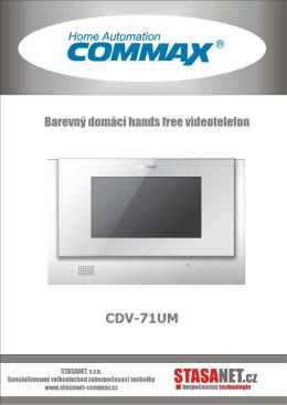 CDV-71UM CZ