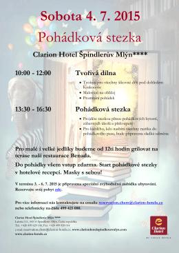Pohádková stezka - Clarion Hotel Špindlerův Mlýn