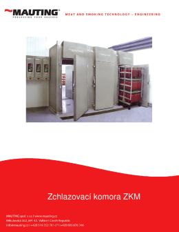 Zchlazovací komora ZKM