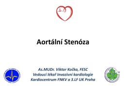 TAVI blok XXII.workshop Pracovní skupiny Interenční kardiologie