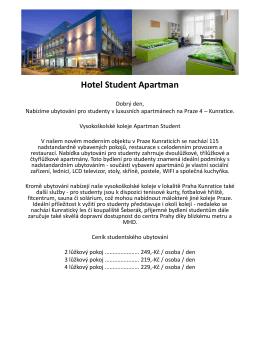 Hotel StudentApartman