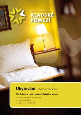 Ubytování / Accommodation