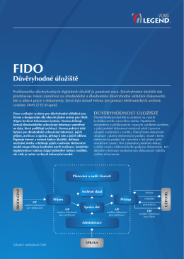 Leták FIDO