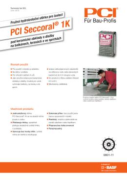 PCI Seccoral 1K - technický list