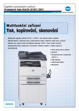 Tisk, kopírování, skenování - T
