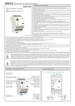 EMDC-64M - Phono Media SC
