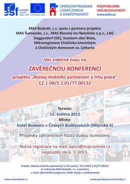 Záverečná konference