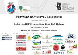 Pozvánka na Tiskovou konferenci 9.6.2015