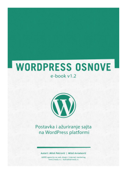 Instalacija WordPress-a na online server