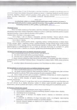 (2) Pravilnika o uslovima, kriterijima i postupku za utvrdivanje prava
