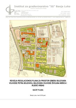 revizija regulacionog plana za prostor između bulevara vojvode