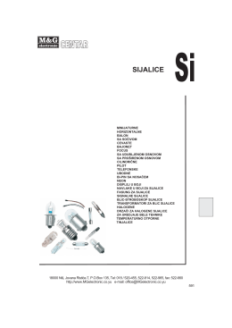 Sijalice - M&G Electronic