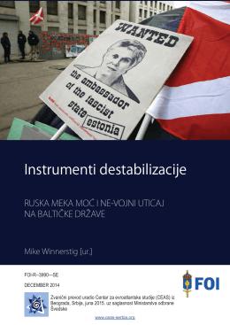 """Ruska """"meka moć"""" i ne-vojni uticaj na baltičke države"""