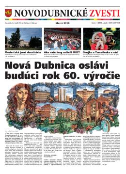 Novodubnické zvesti - Mesto Nová Dubnica