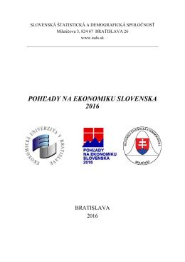 Konferenčný zborník konferencie PES 2016