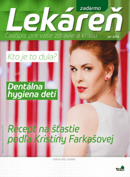 Vydanie jar 2016