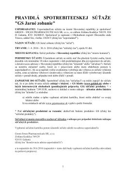 Úplné pravidla - gsjarnasutaz.sk