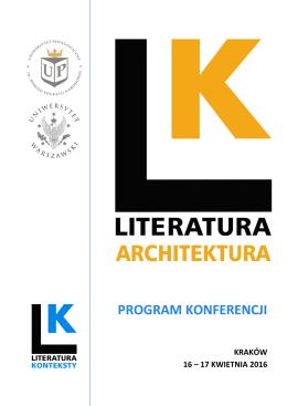 Program - Uniwersytet Pedagogiczny w Krakowie