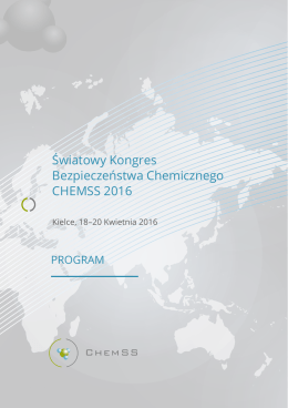 Program PL - chemss 2016