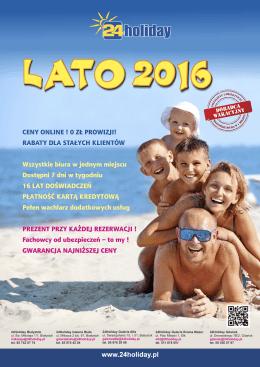 Ulotka Lato 2016