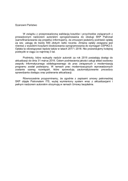 wersja pdf - Patronat
