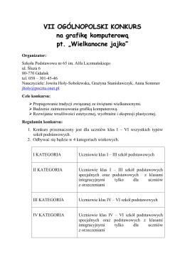 Regulamin - SP nr 86 w Gdańsku