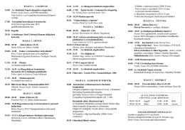 Akadémiai Napok 1998