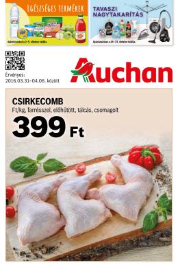Auchan akciós újság letöltése PDF formátumban ITT - Akciós