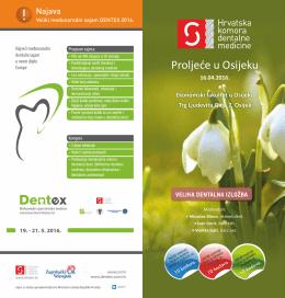 Proljeće u Osijeku - Hrvatska Komora Dentalne Medicine