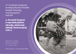 4th Croatian Congress on Reproductive Health, Family Planning
