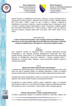 Direktor Agencije za identifikacione dokumente, evidenciju i