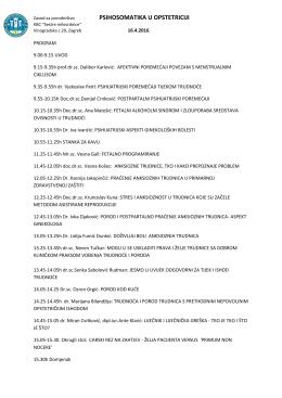 Program - Hrvatska Komora Primalja