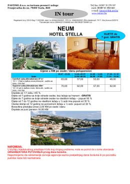 Neum hotel Stella
